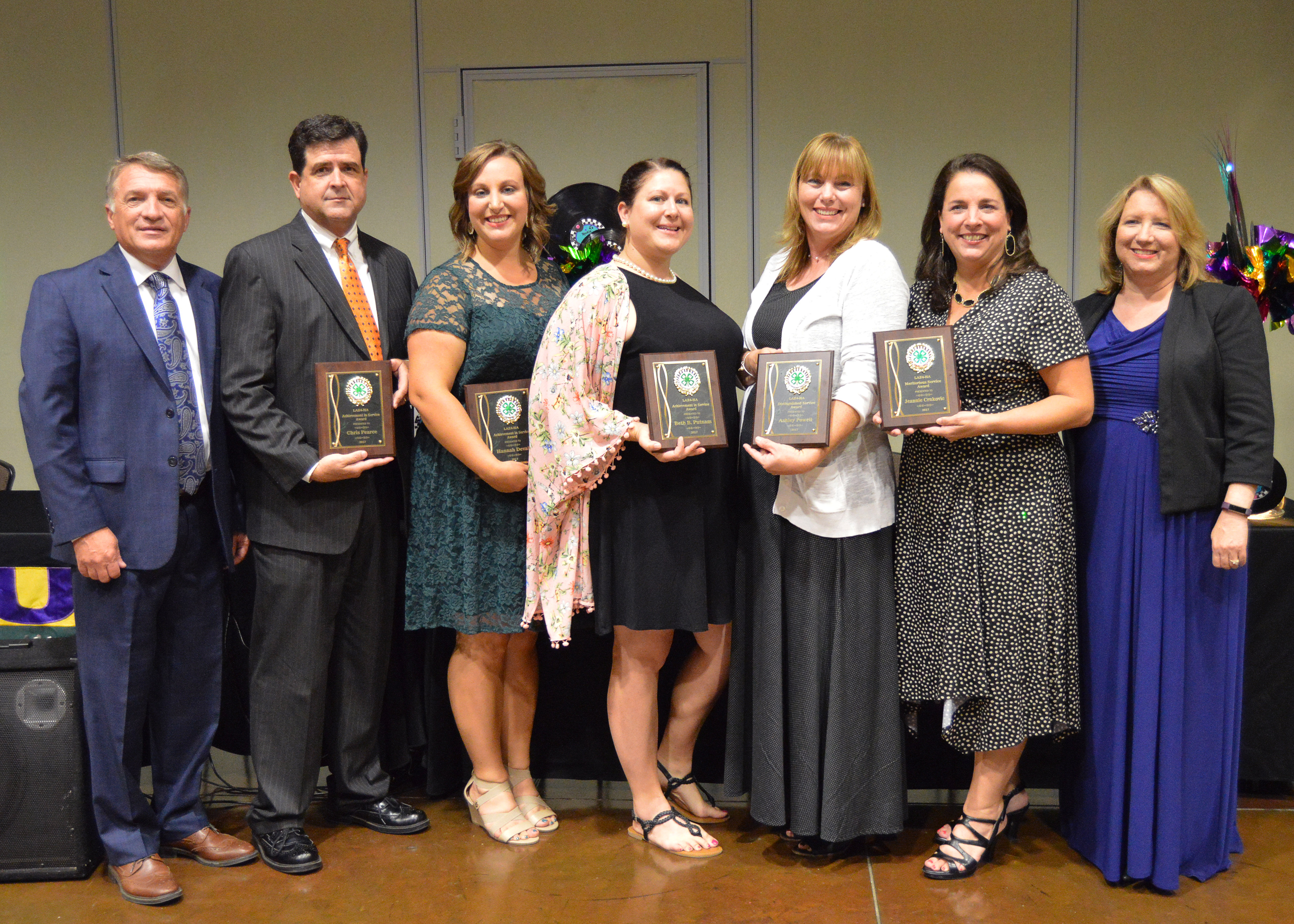 Louisiana 4-H association recognizes outstanding agents