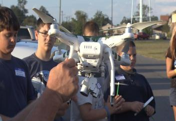 4-H club celebrates 4-H National Science Day with drones