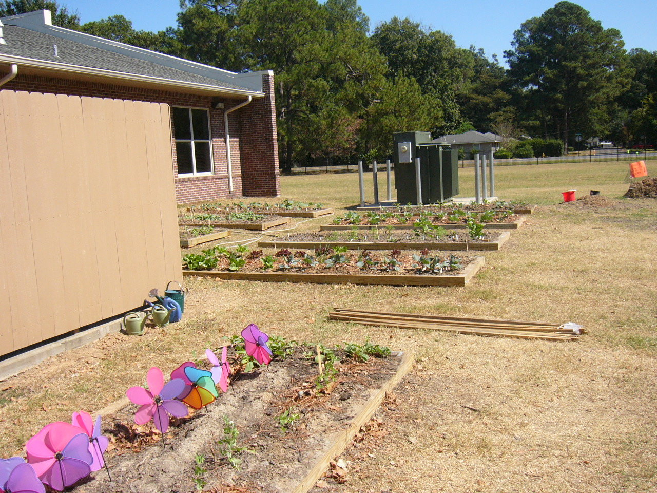 Louisiana Schools Greauxing Gardens