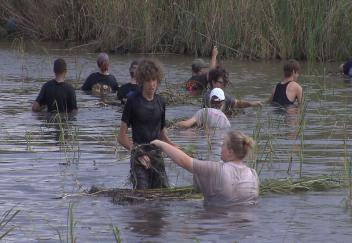 Marsh Maneuvers teach about coastal preservation