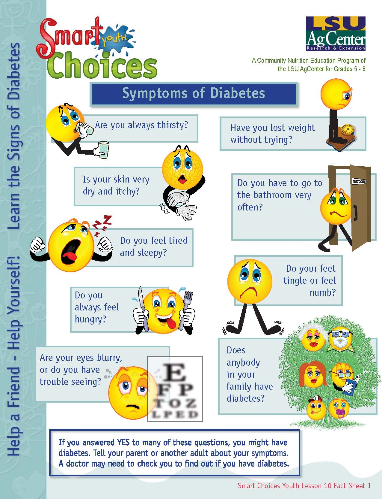 Learn the Signs of Diabetes Symptoms