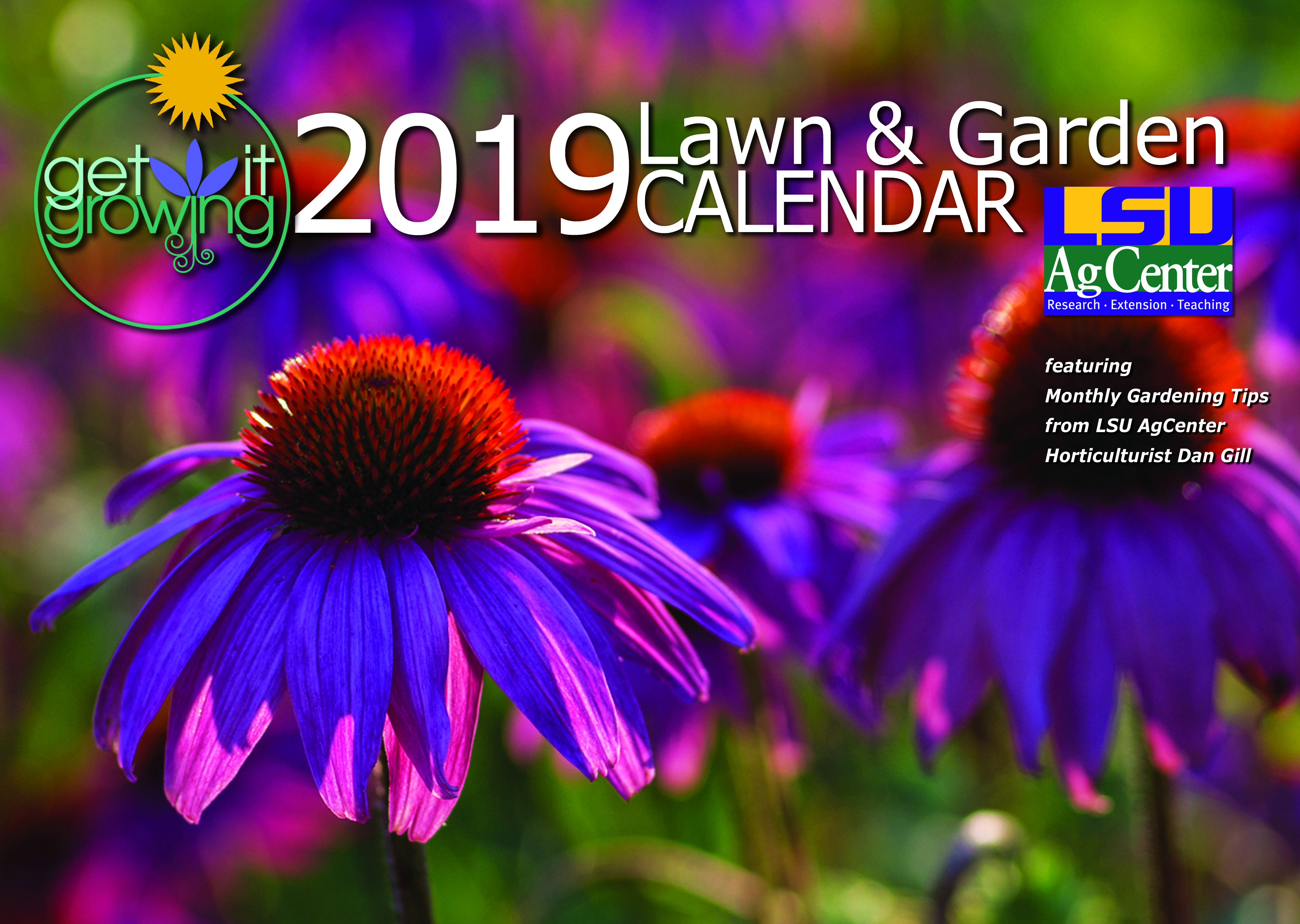 Lsu Calendar 2020 LSU AgCenter issues call for entries for 2020 Get It Growing calendar