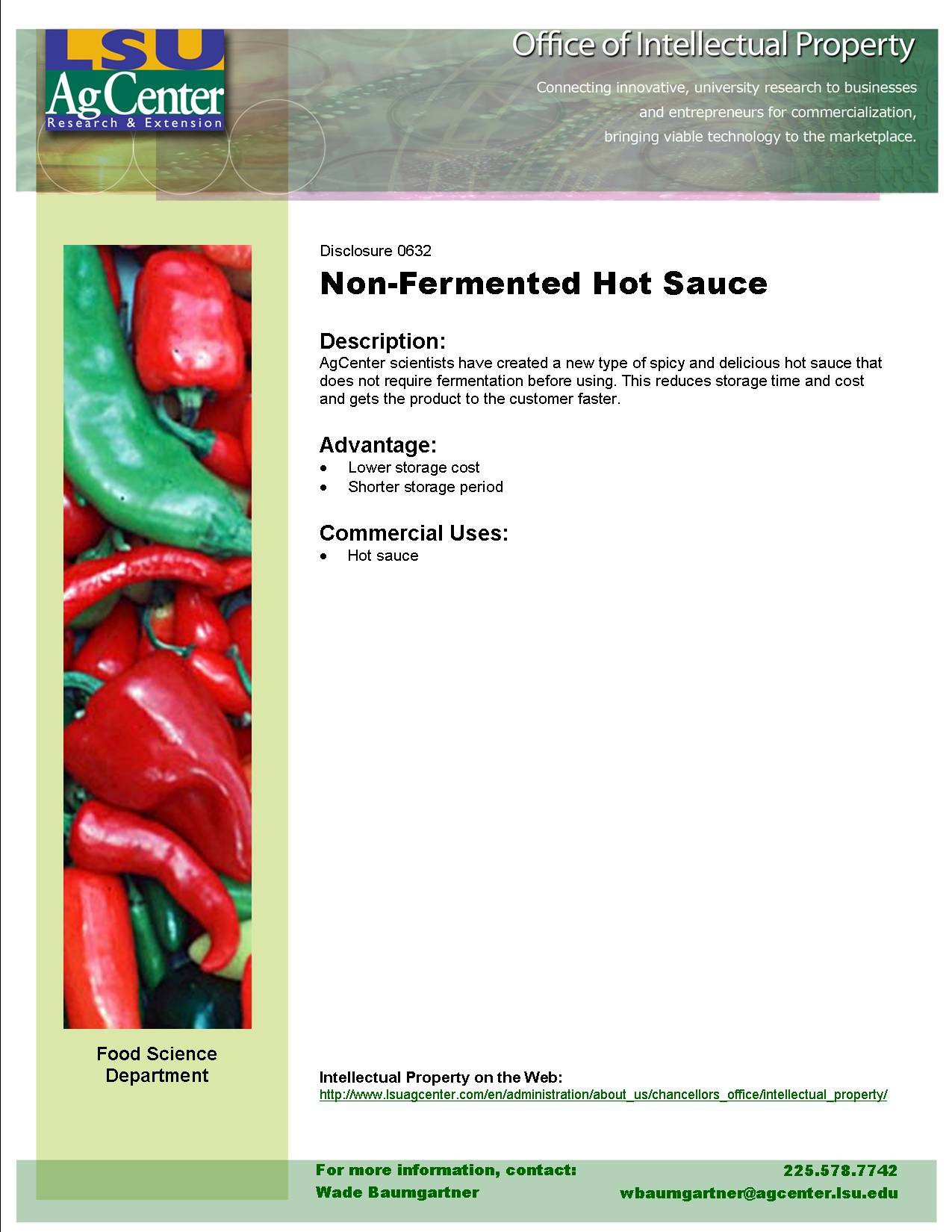 Non-Fermented Hot Sauce