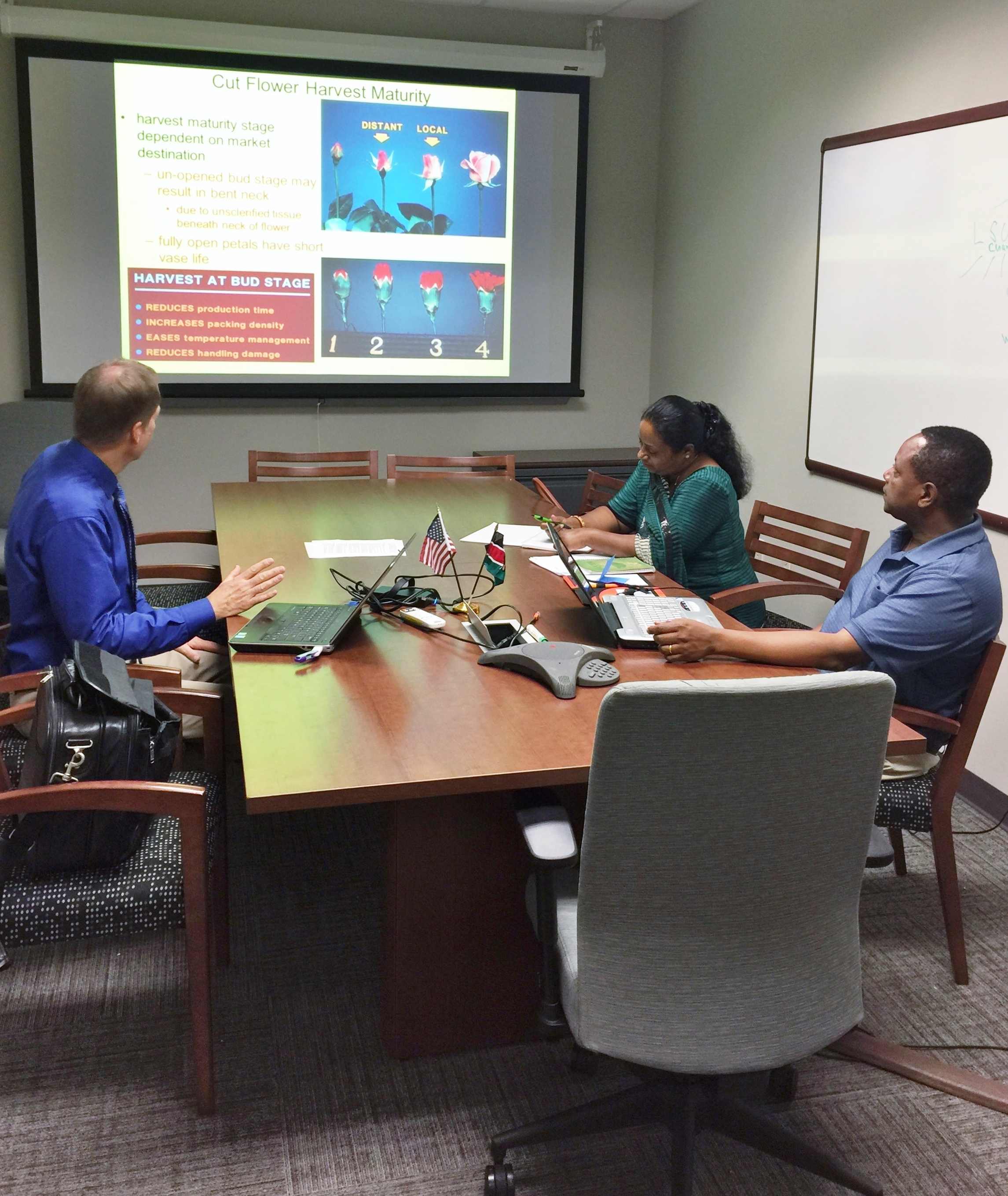 Kenyan scientists learn post-harvest, marketing techniques at LSU AgCenter