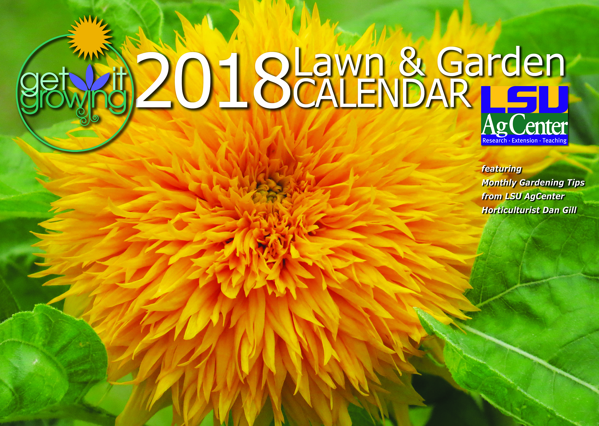 """Get It Growing"" in 2018 with AgCenter lawn and garden calendar"