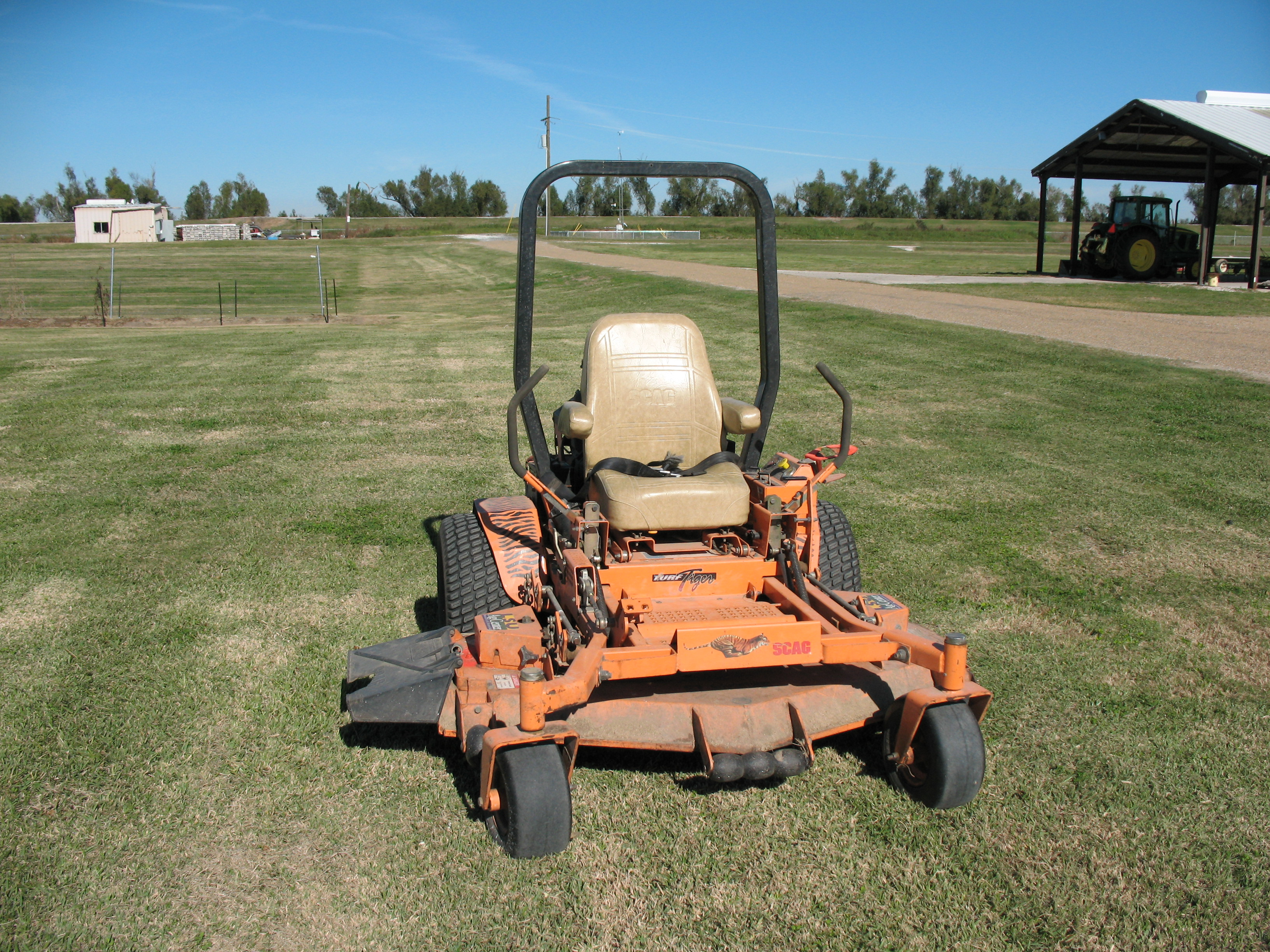 Safety Standards for Commercial-size Riding Mowers
