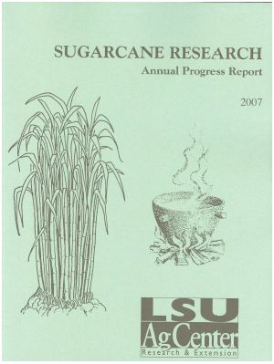 2007 Sugarcane Annual Report