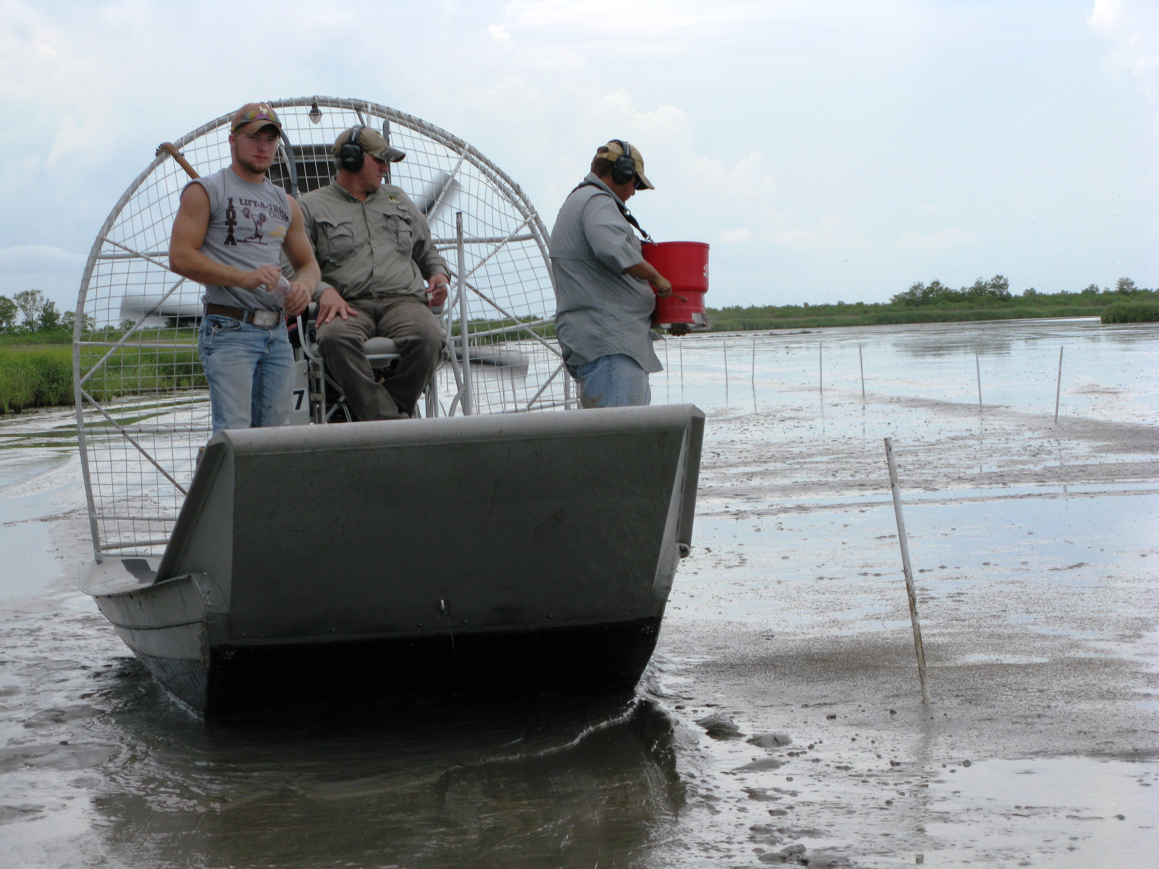 Improving Technology for Coastal Wetlands Restoration