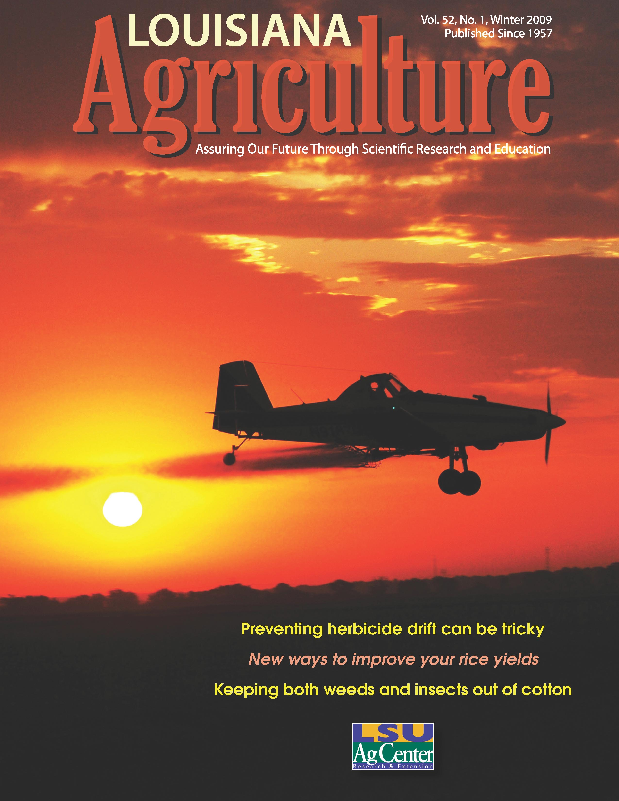 Louisiana Agriculture Magazine winter 2009
