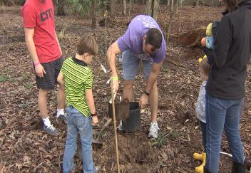 Arbor Day celebrated in Baton Rouge at Barton Arboretum
