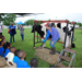 Students get hands-on experience with farm animals