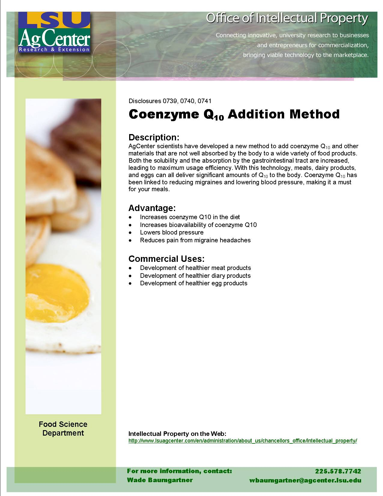Coenzyme Q10 Addition Method
