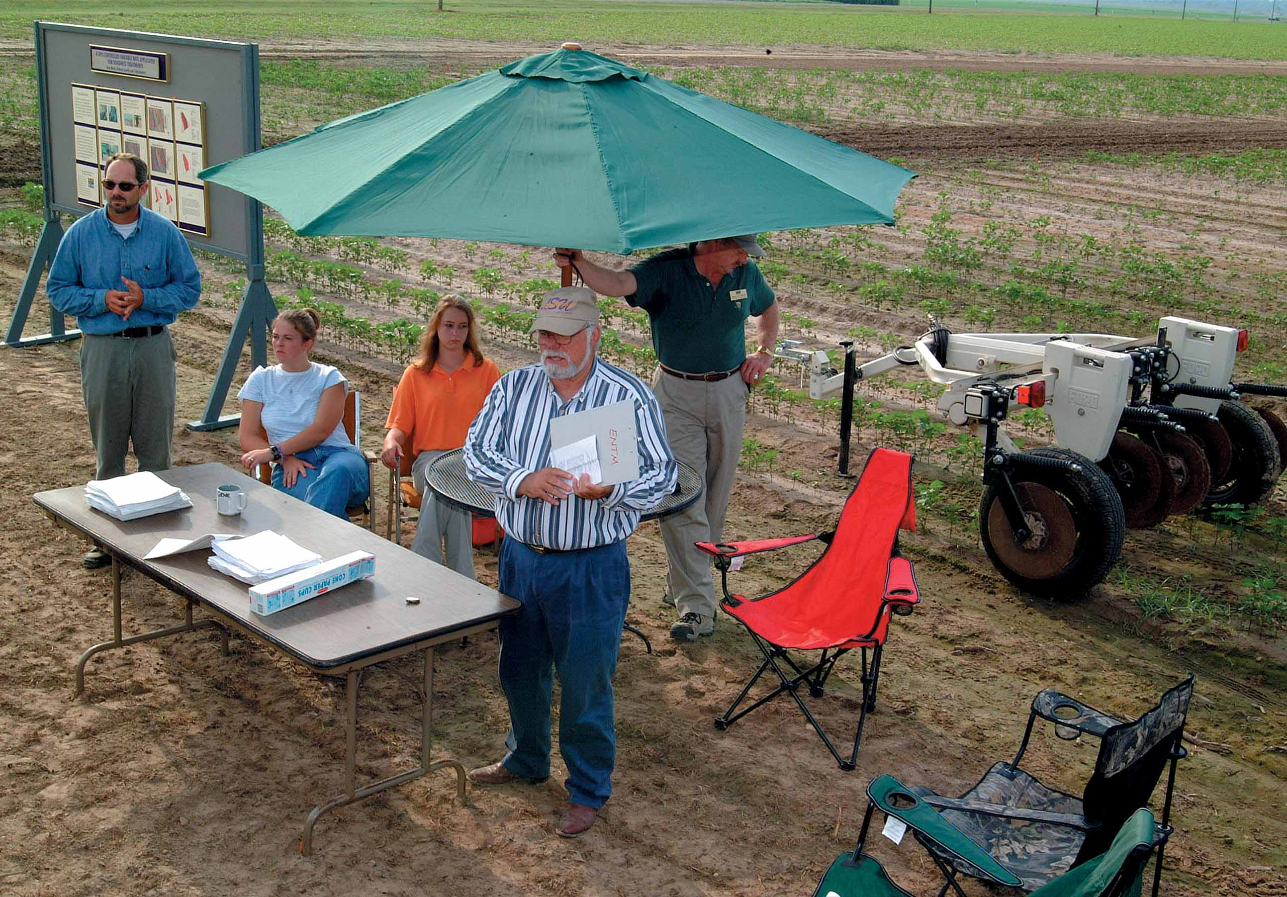 Field Day at Northeast Research Station