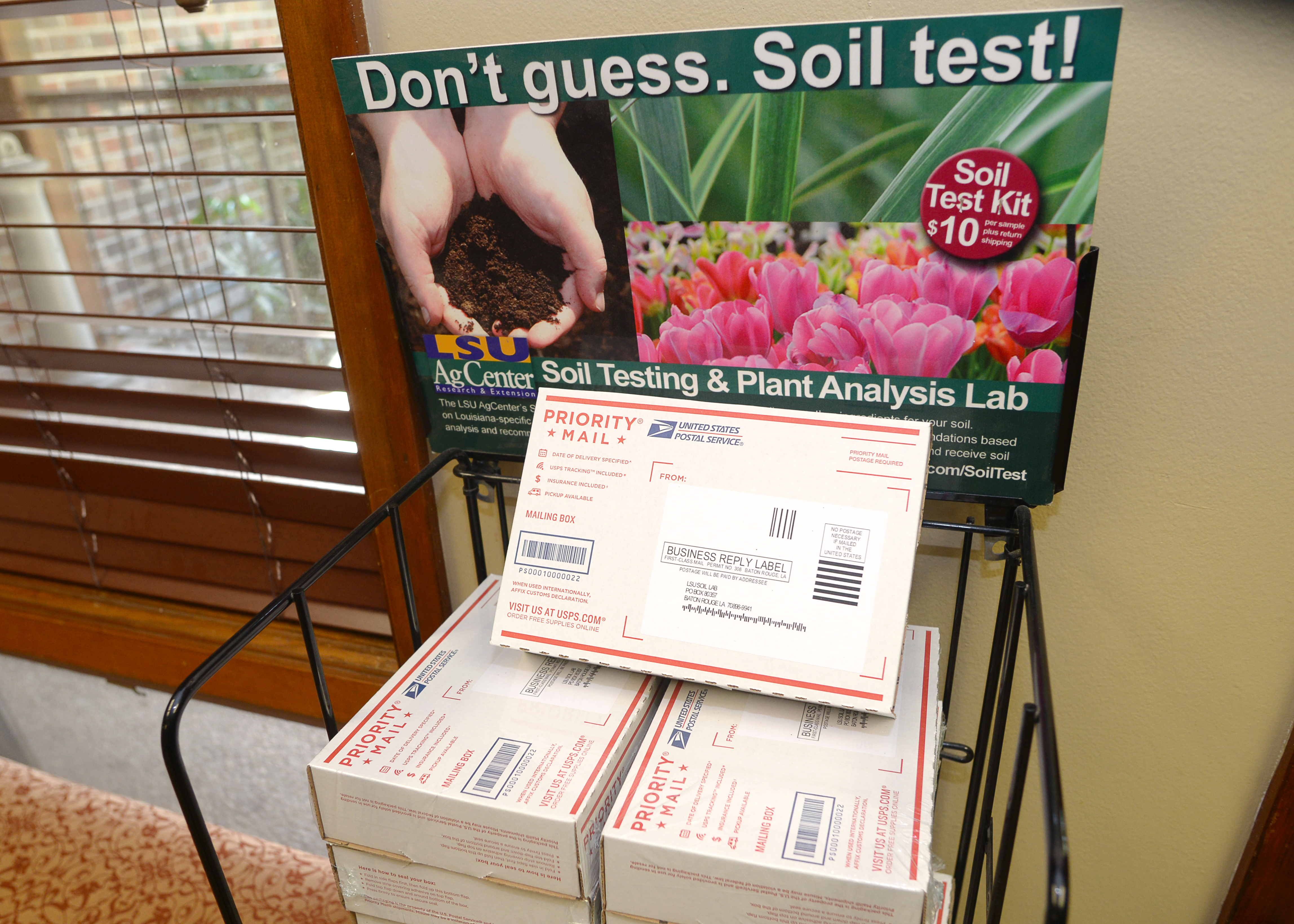 LSU AgCenter lab offers soil testing service for spring planting