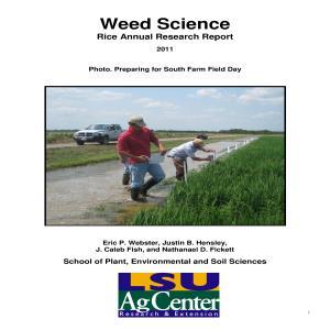 principles of weed science pdf