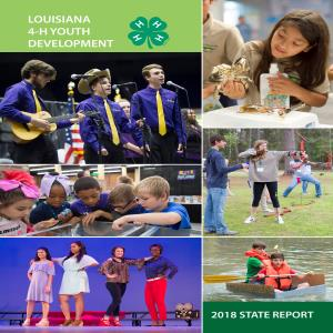 Louisiana 4-H Youth Development 2018 State Report