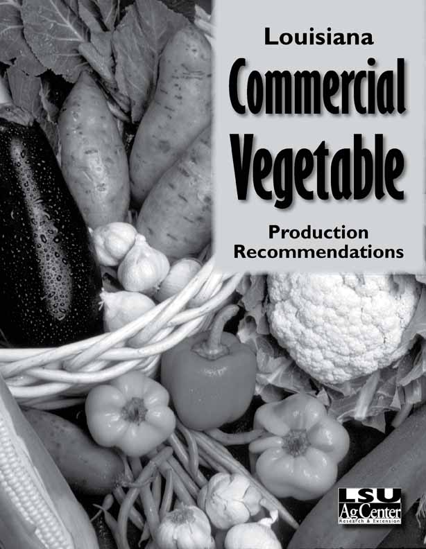 Commercial Vegetable Production Recommendations