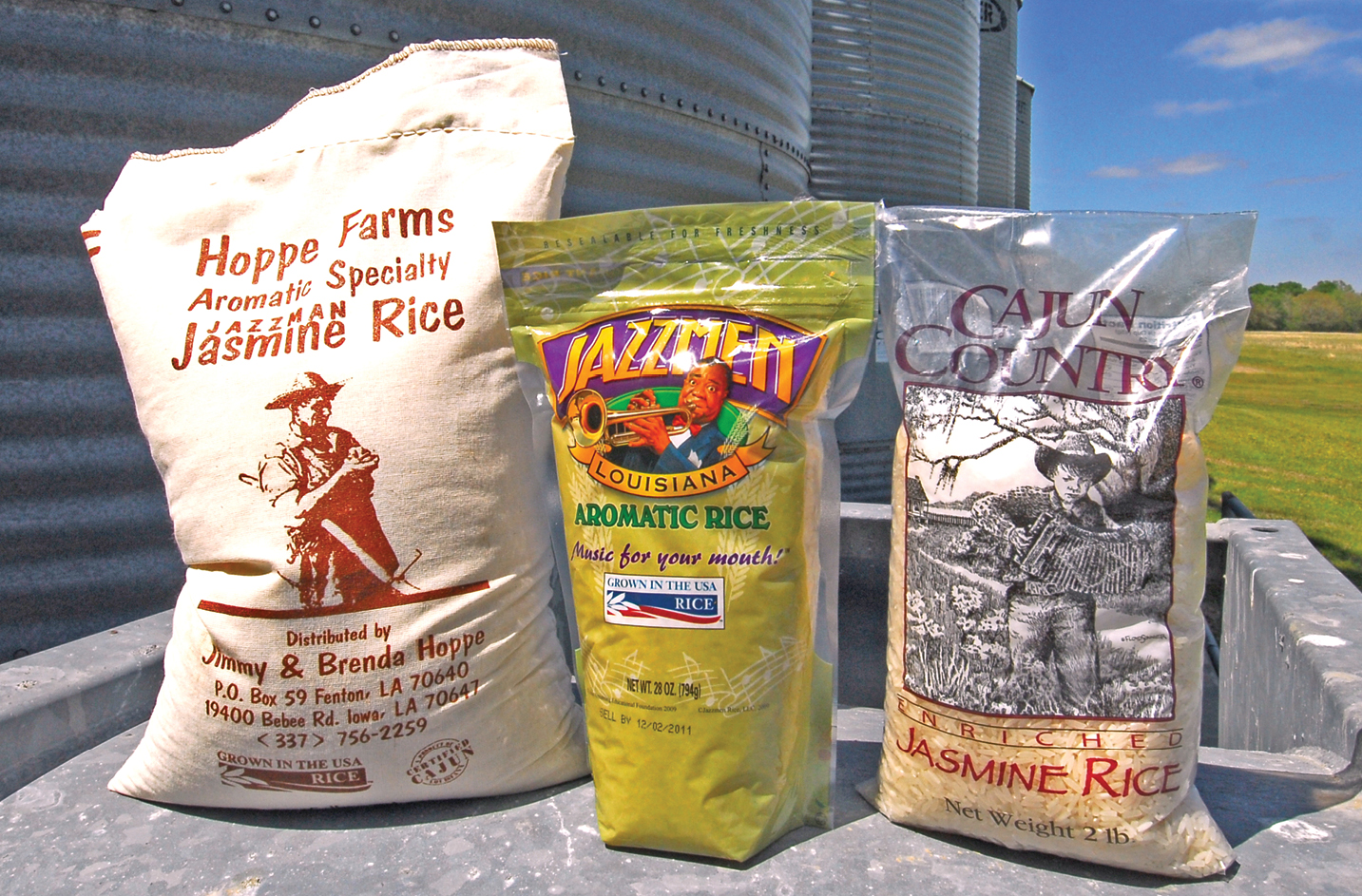 Jazzman competes well in aromatic rice market