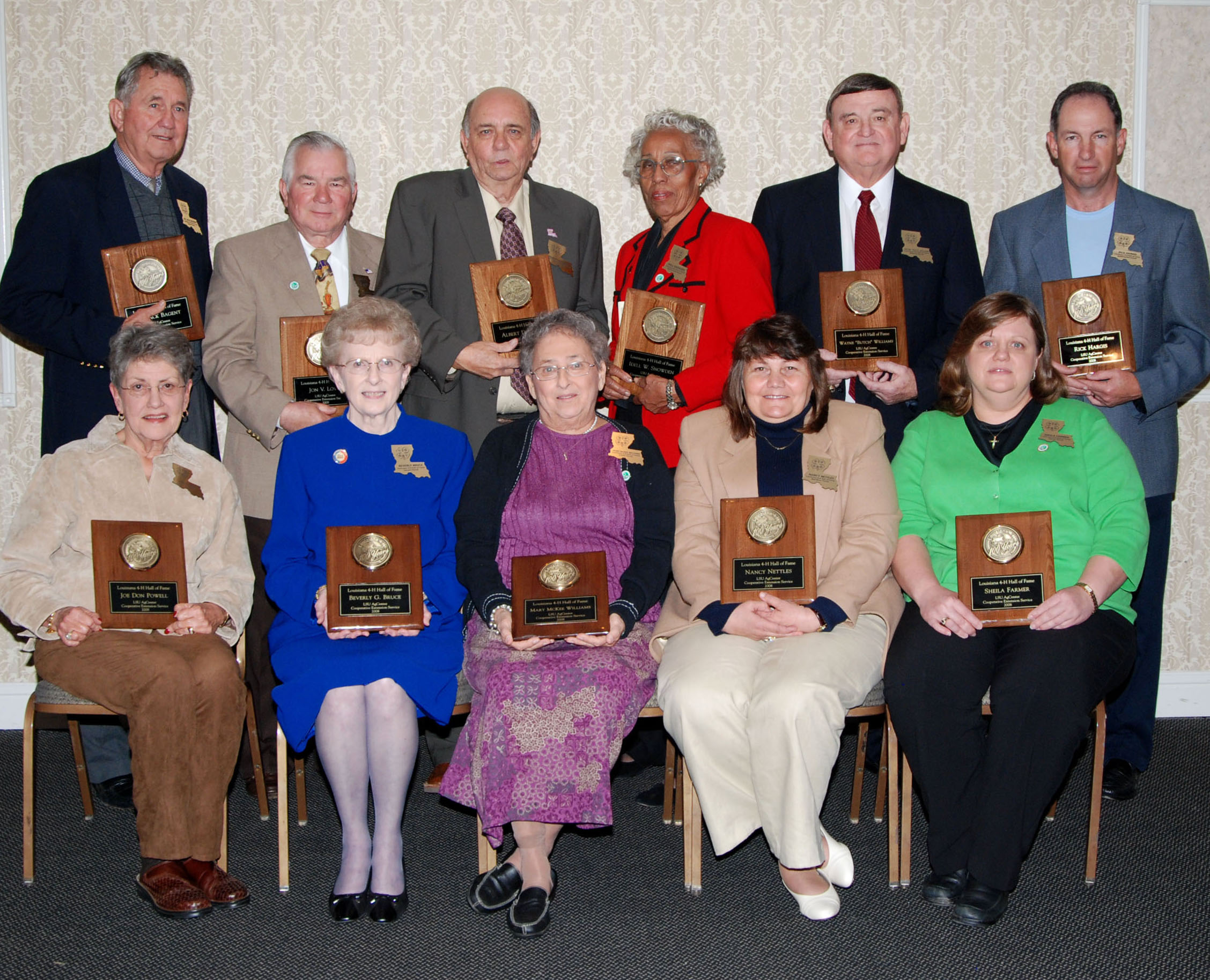 11 from Northwest Louisiana inducted into Louisiana 4-H Hall of Fame