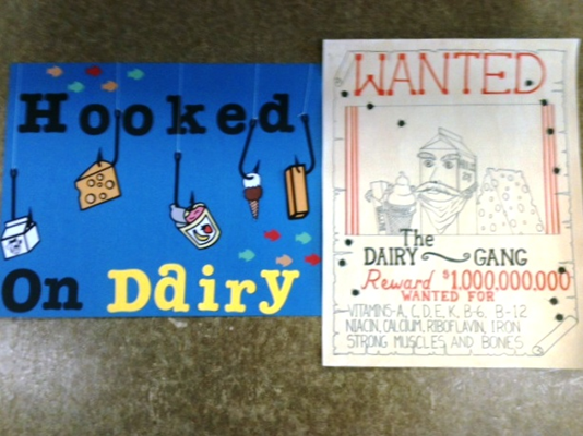2012 Dairy Posters