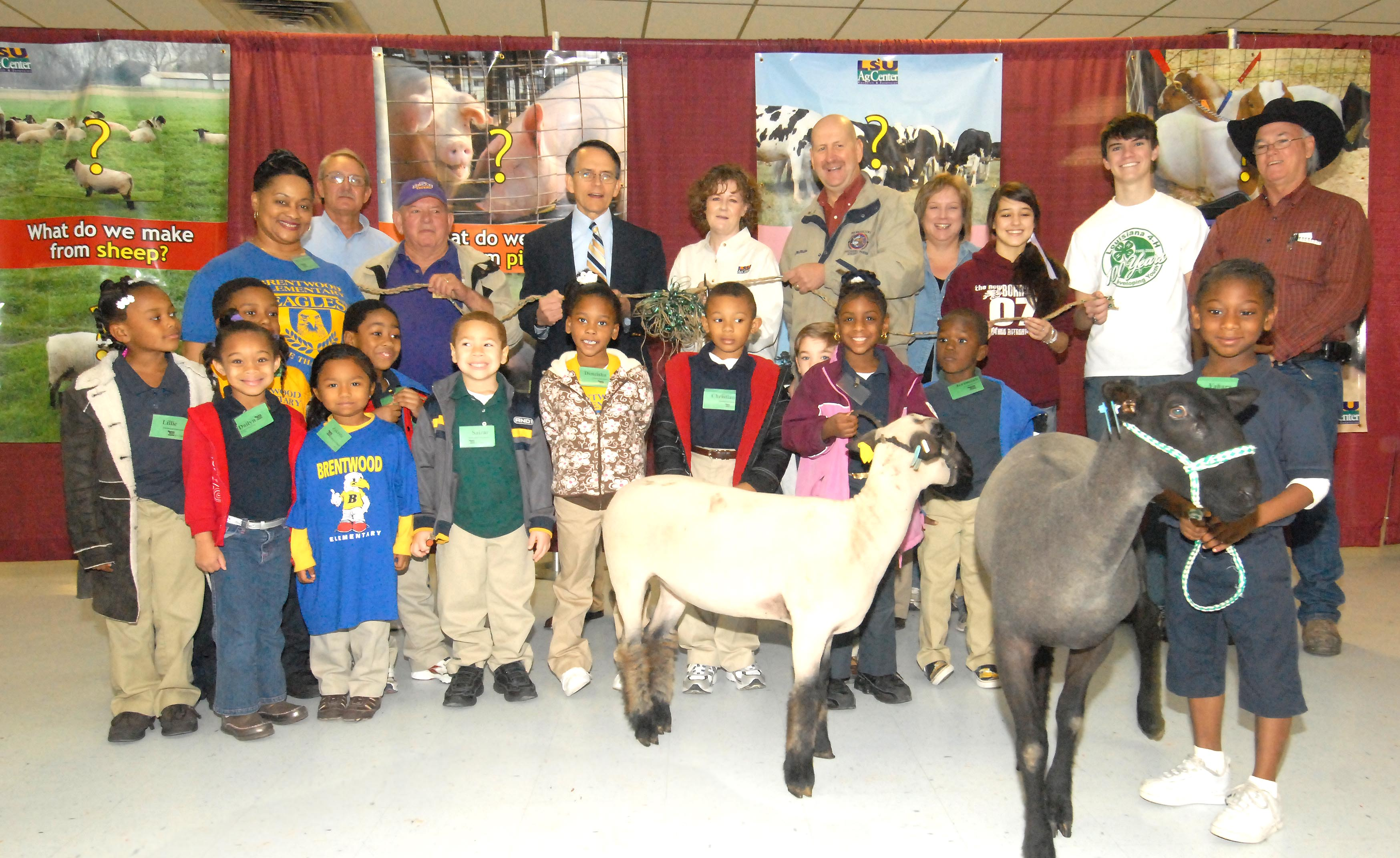 Kids see 'real' farm animals, learn about food at Ag Adventure