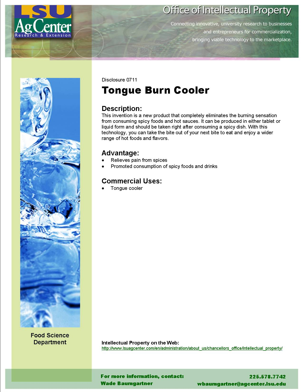 Tongue Burn Cooler