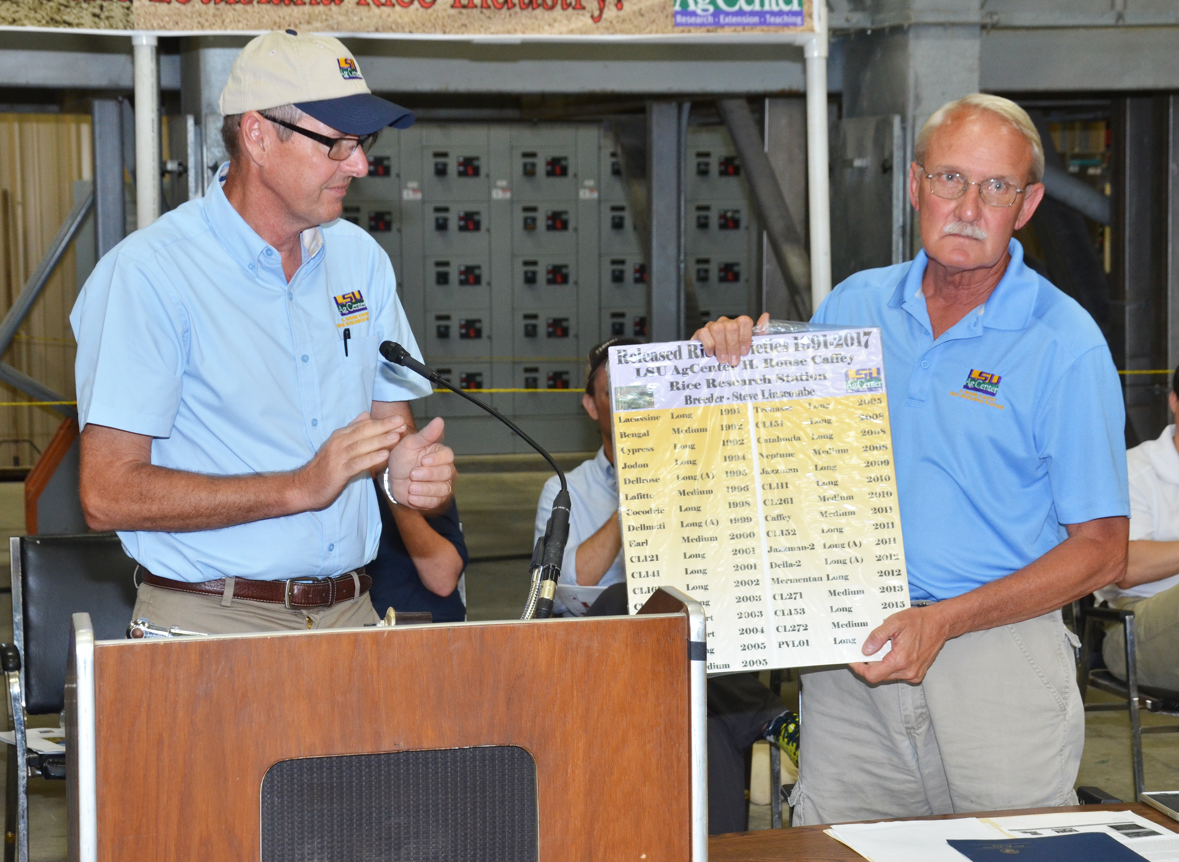 AgCenter rice breeder announces retirement