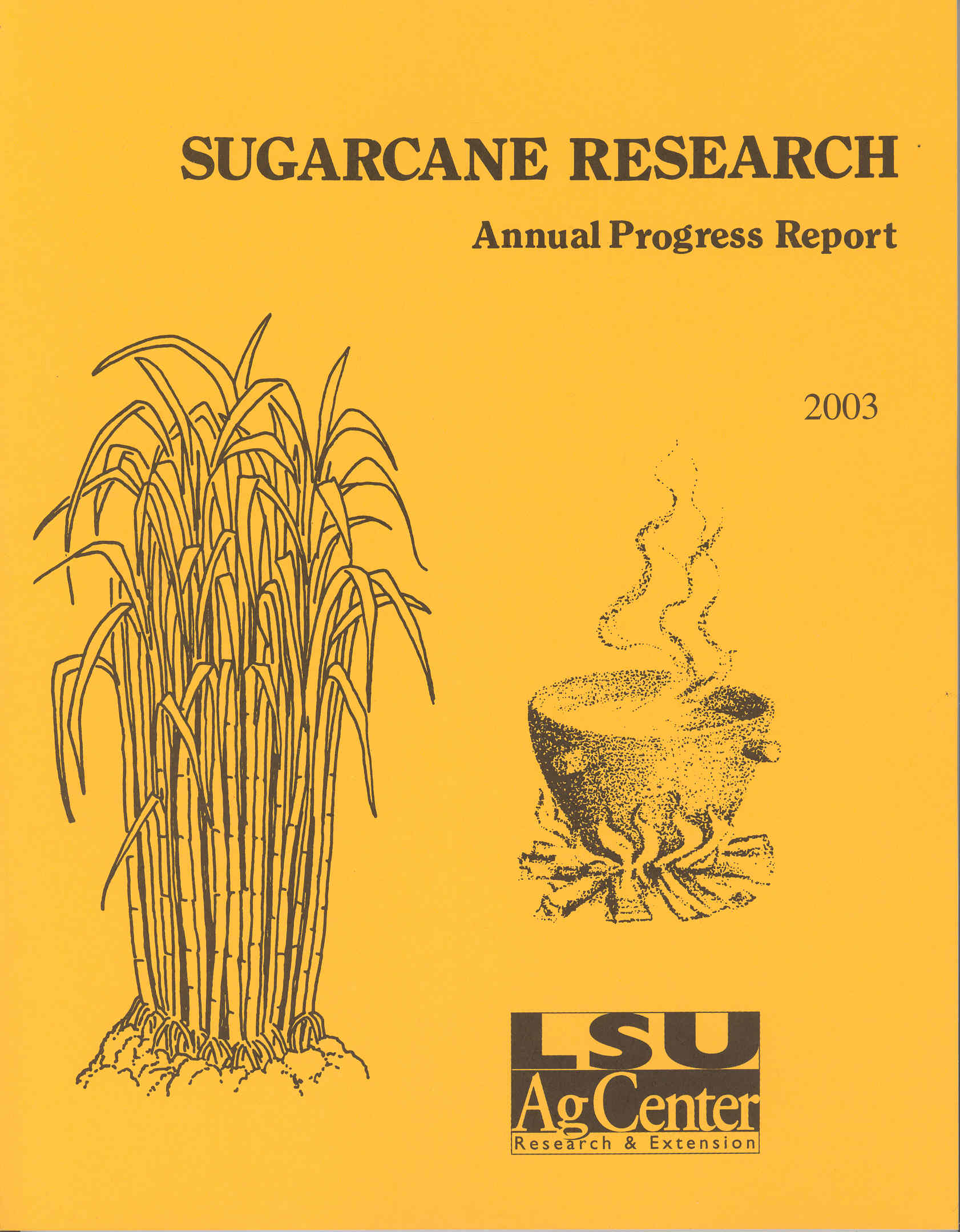2003 Sugarcane Annual Report