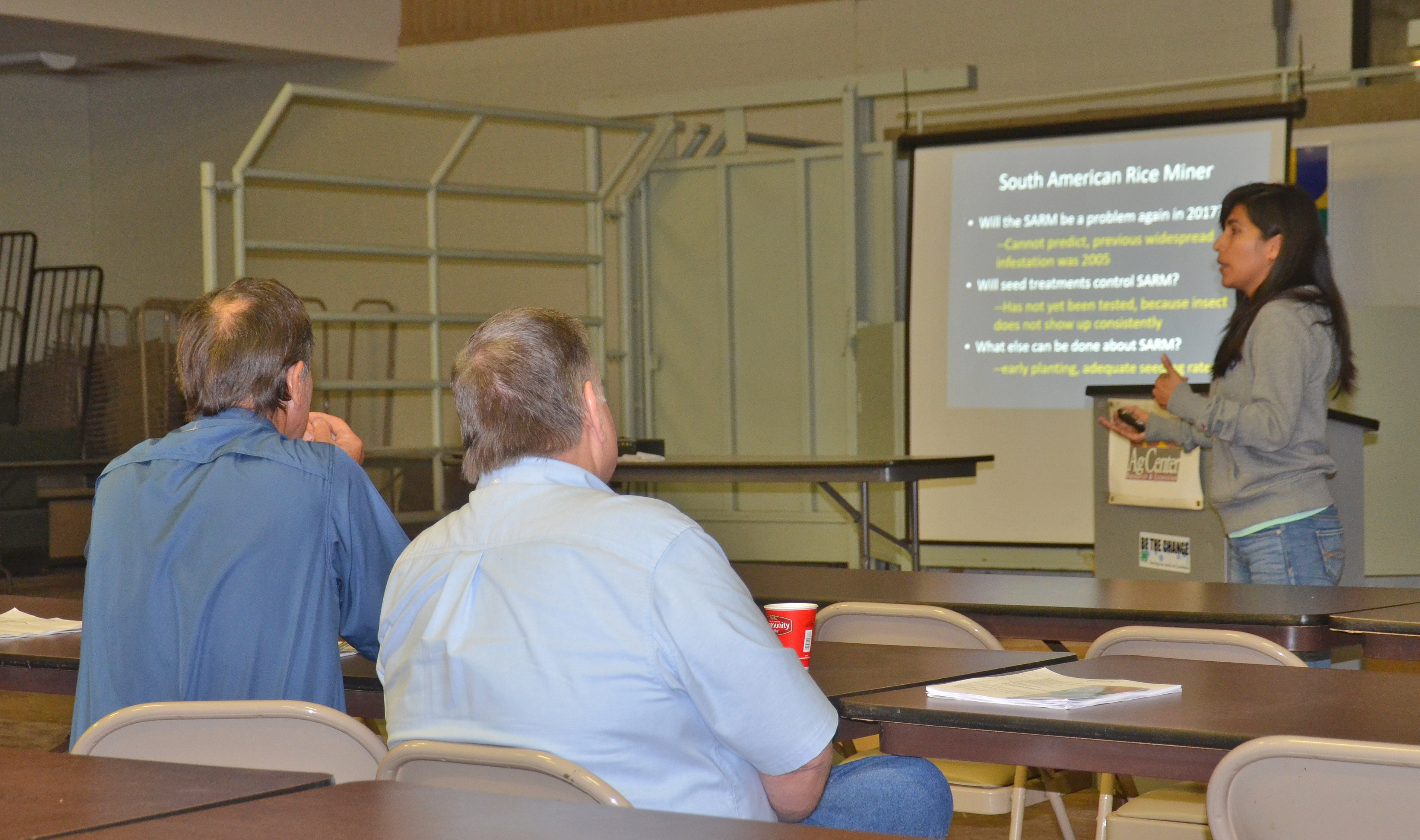 New rice herbicide, crop outlook featured at grower meetings