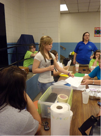 Vernon Parish 4Hers Conduct the Back Pack Project