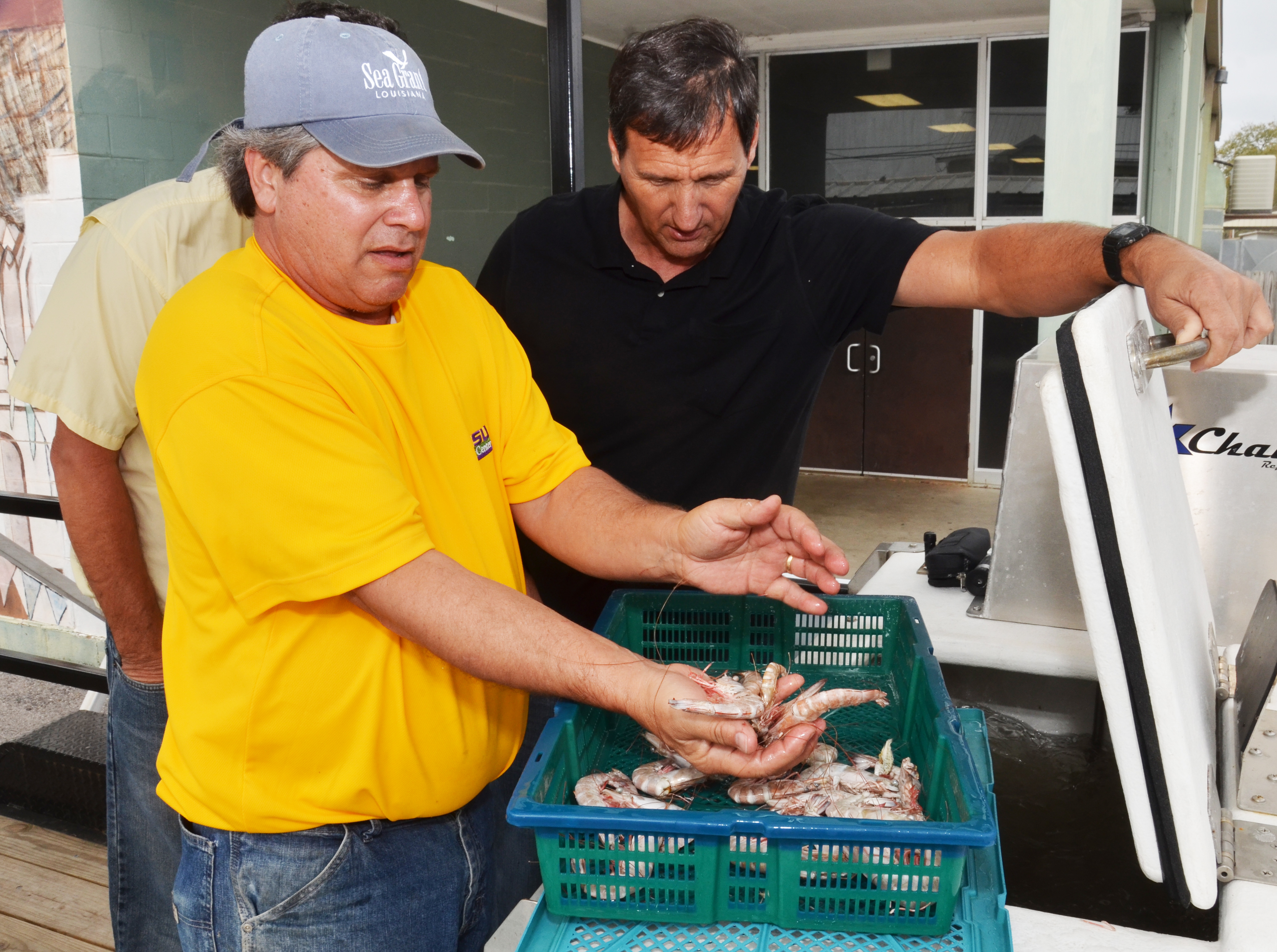 Shrimpers hear new regulations, techniques