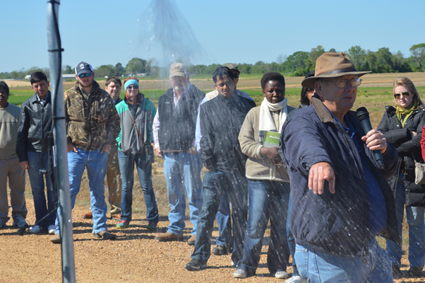 Steve Nipper talks about irrigation.