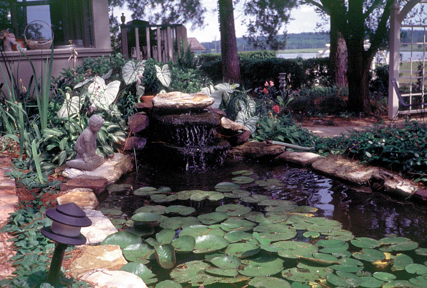 Ornamental ponds and water gardens
