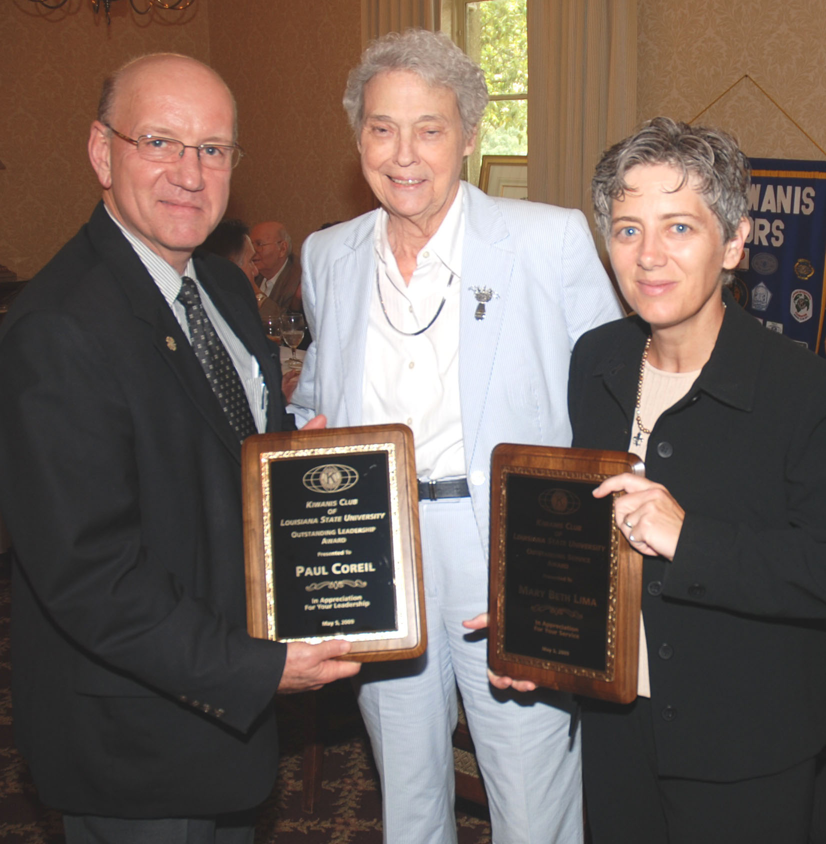 Coreil, Lima win top 2009 awards from LSU Kiwanis Club
