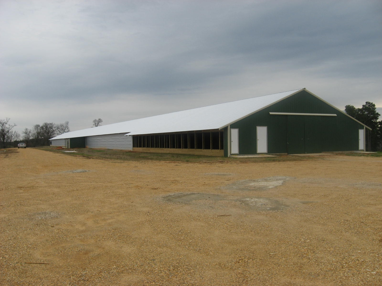 New Poultry Houses at Hill Farm Research Station