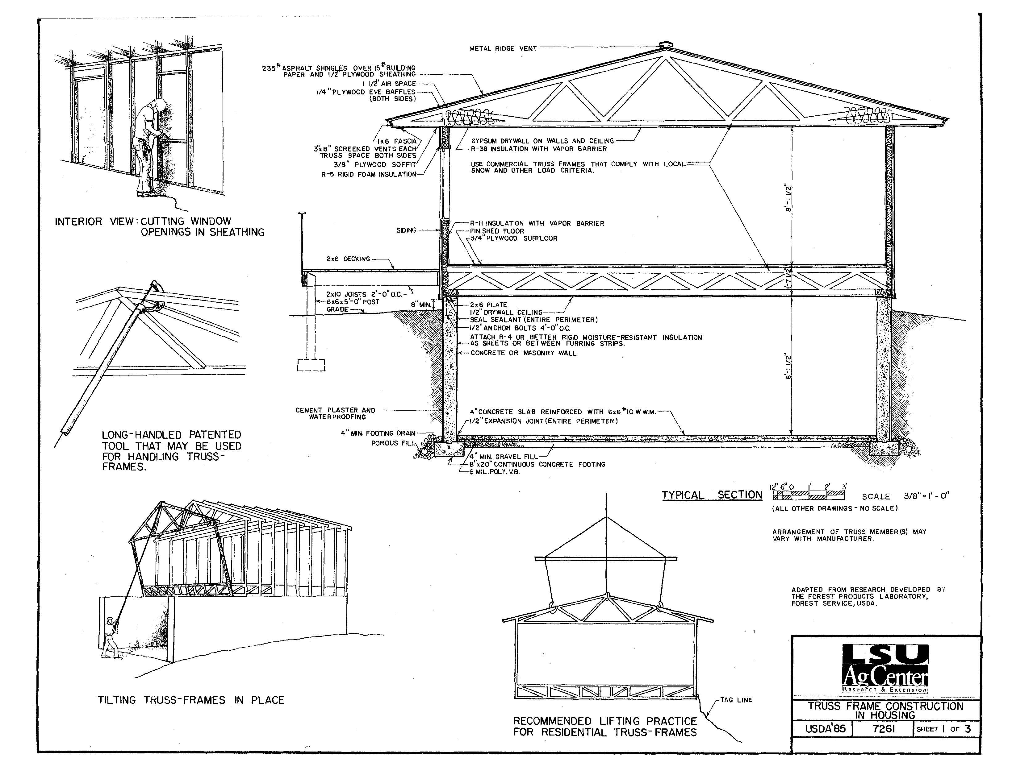 Truss Frame Construction in Housing