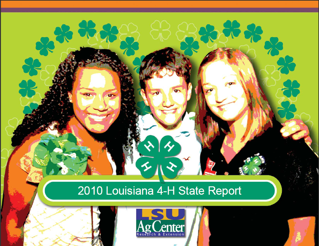 2010 Louisiana 4-H State Report