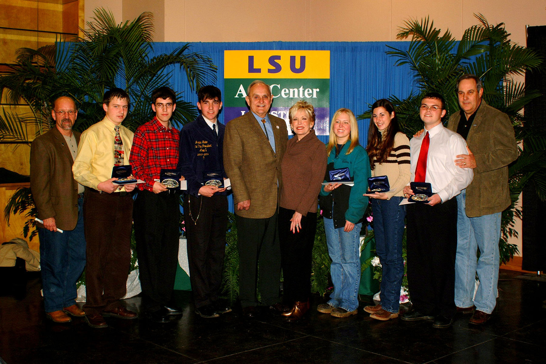Premier Exhibitor Honors Awarded At LSU AgCenter Livestock Show