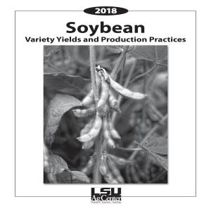 2018 Soybean Variety Yields and Production Practices