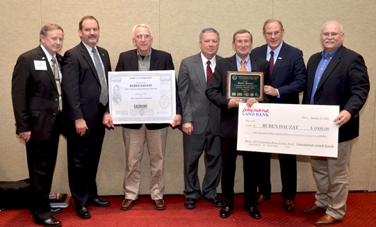 2014 Outstanding Louisiana Master Farmer