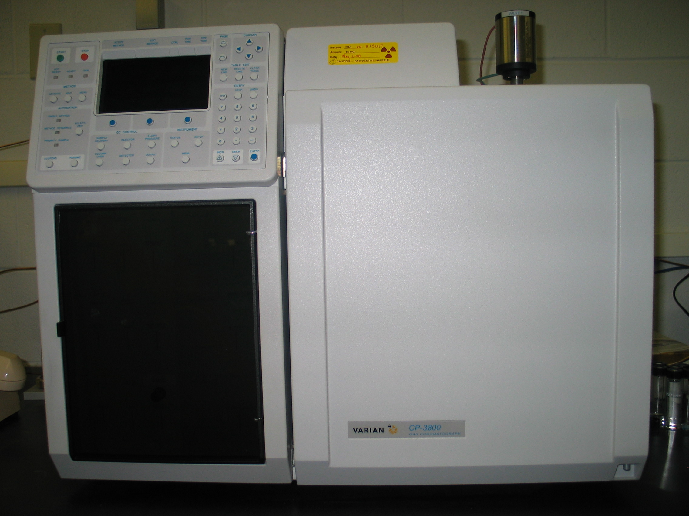 Varion 3800C Gas Chromatography