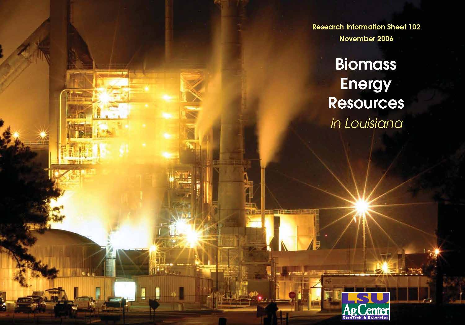 Biomass Energy Resources in Louisiana
