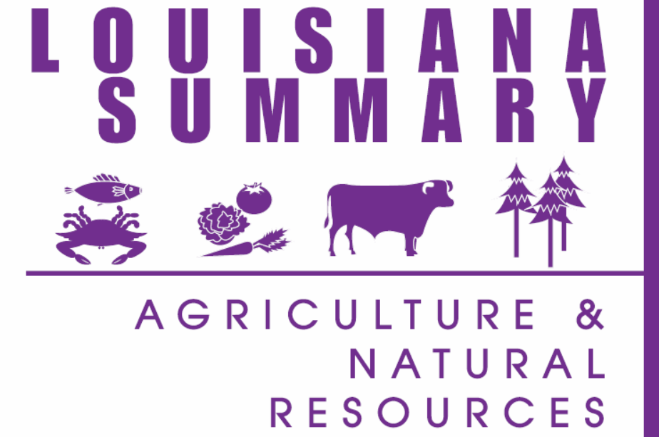 2017 Louisiana Summary: Agriculture and Natural Resources