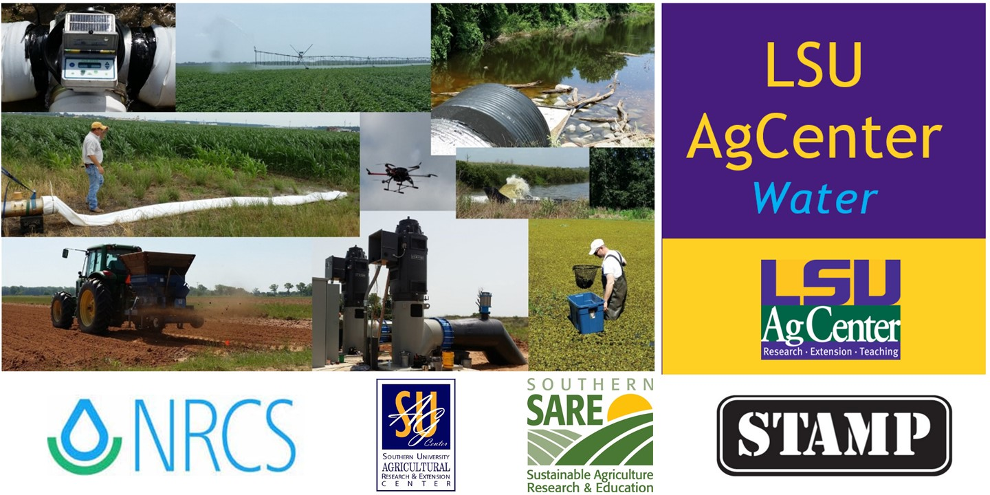 Workshop for Sustainable Row Crop Irrigation Management in Louisiana