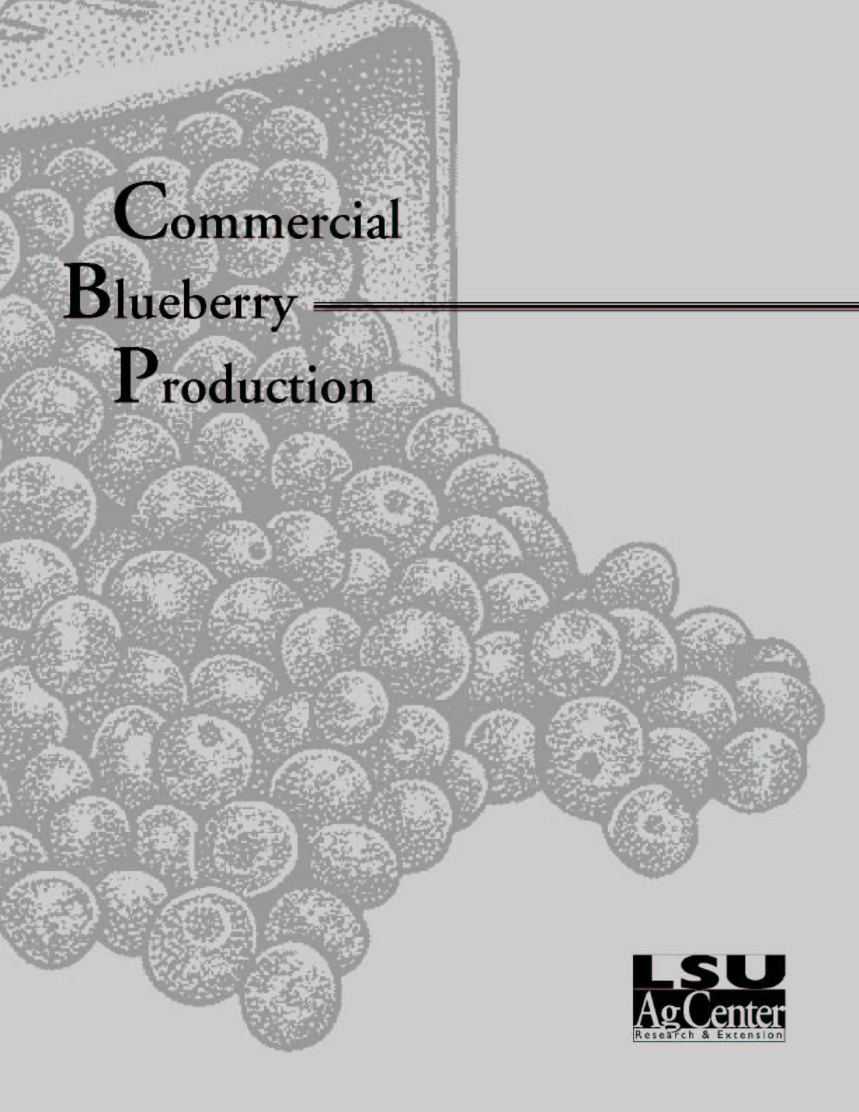 Commercial Blueberry Production