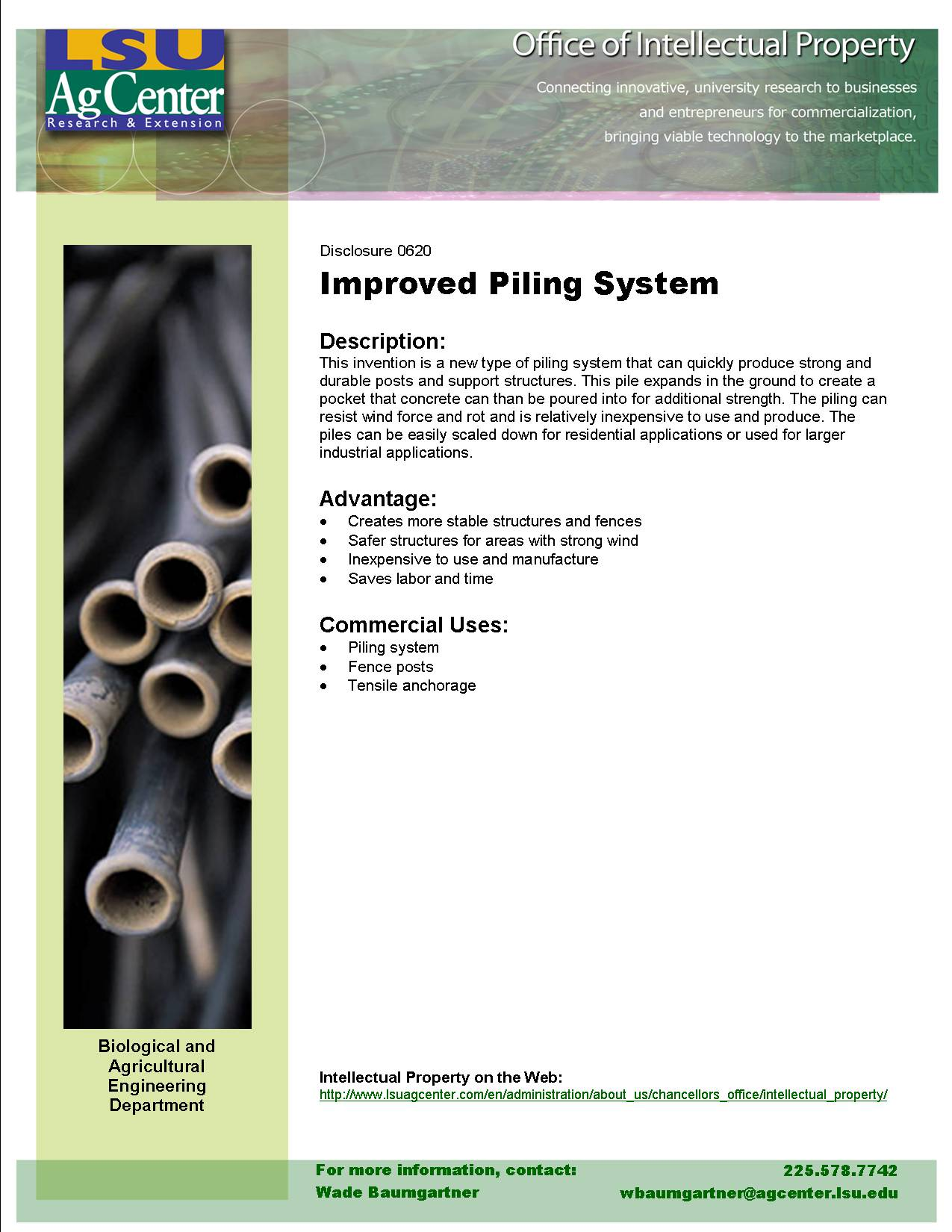 Improved Piling System
