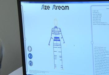 Students use exciting new body scanning technology