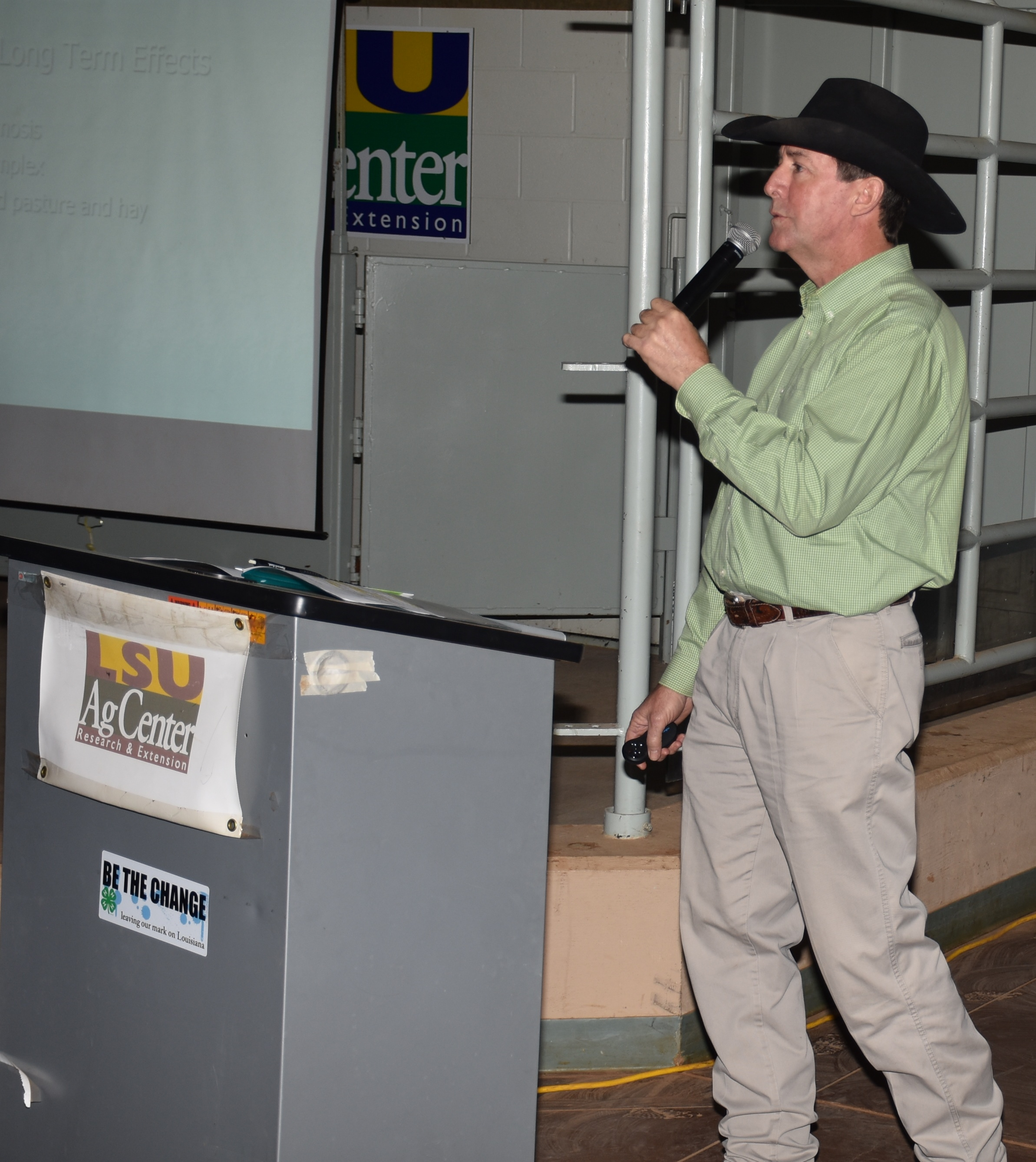 Forage producers hear about pasture conditions after floods