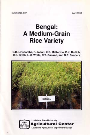 Bengal: A Medium-Grain Rice Variety (April 1993)