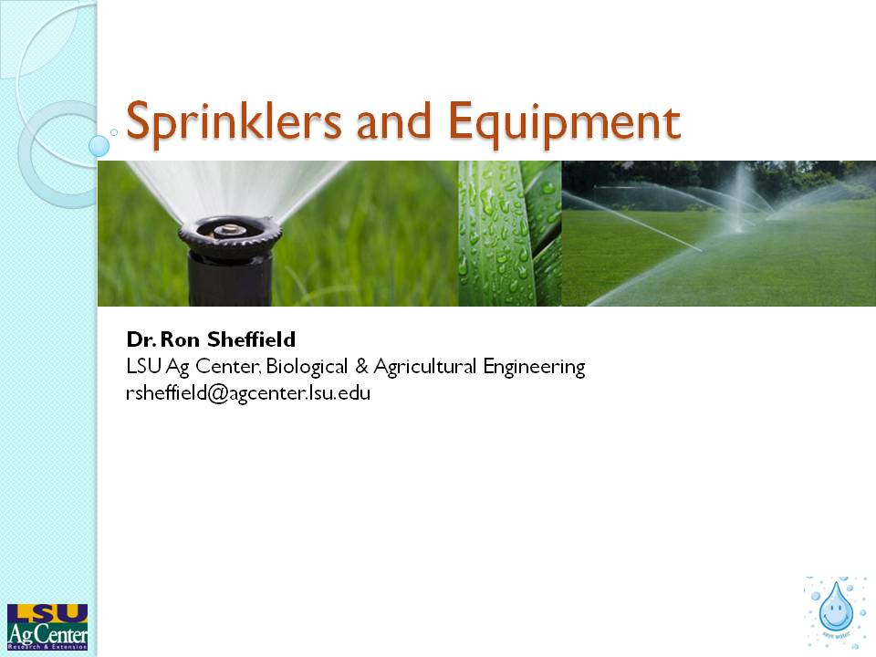 Sprinklers & Equipment